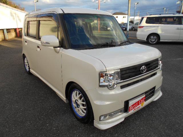 カスタム X ワンオーナー 社外車高調 キセノンライト(5枚目)