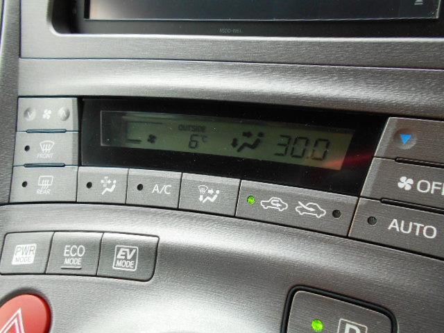 便利なオートエアコン!液晶表示が良いですね!