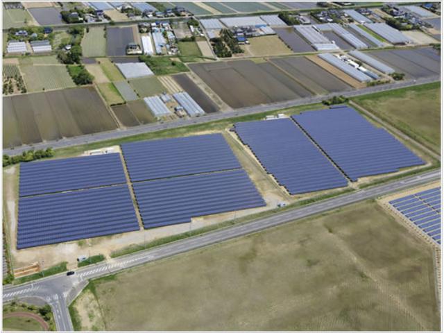 当社は、安心、安全な環境作りを目指しております。全国15ヶ所に太陽光発電所を有しており、今後、更に展開予定です。