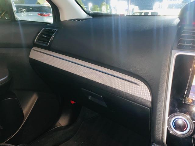 1.6GT-Sアイサイト TVナビ アイドリングS レーダークルコン BT スマートキー レーンキープ Sカメラ 盗難防止システム ETC サイドエアバック バックモニタ ブレーキサポート 電動シ-ト LEDヘッドランプ(35枚目)