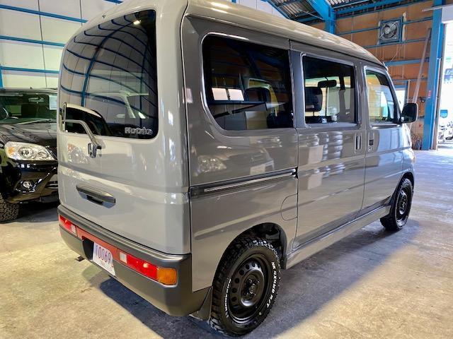 660M 4WD マットスチール マッドタイヤ 軽キャン(5枚目)