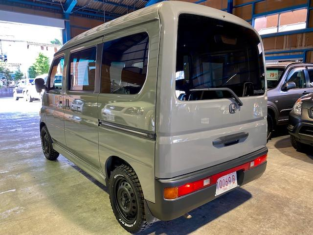 660M 4WD マットスチール マッドタイヤ 軽キャン(6枚目)