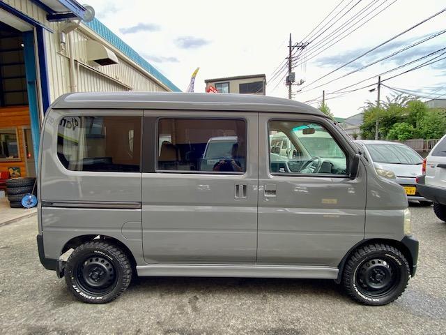 660M 4WD マットスチール マッドタイヤ 軽キャン(11枚目)