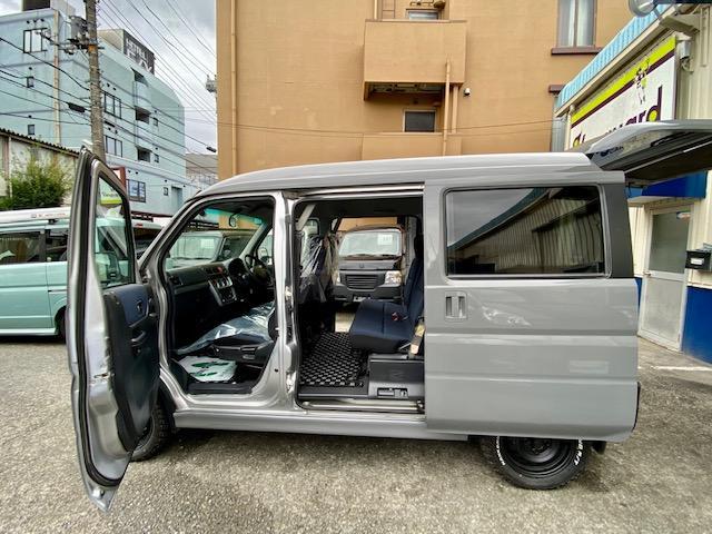 660M 4WD マットスチール マッドタイヤ 軽キャン(14枚目)