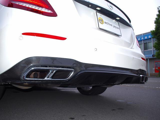 E63 S 4マチック+ AMGカーボンセラミックブレーキ AMGビッグキャリパー AMG専用鍛造20インチホイール フルオプションカーボンボディキット+カーボンインテリア セーフティドライブ オプションフル 保証書取説(23枚目)