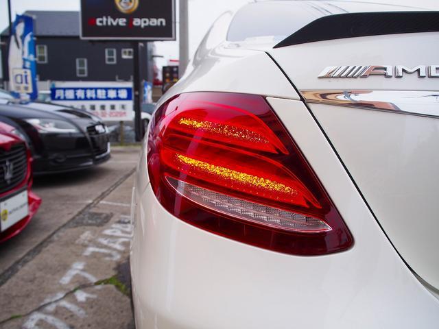 E63 S 4マチック+ AMGカーボンセラミックブレーキ AMGビッグキャリパー AMG専用鍛造20インチホイール フルオプションカーボンボディキット+カーボンインテリア セーフティドライブ オプションフル 保証書取説(27枚目)