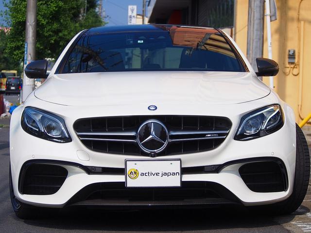 E63 S 4マチック+ AMGカーボンセラミックブレーキ AMGビッグキャリパー AMG専用鍛造20インチホイール フルオプションカーボンボディキット+カーボンインテリア セーフティドライブ オプションフル 保証書取説(61枚目)
