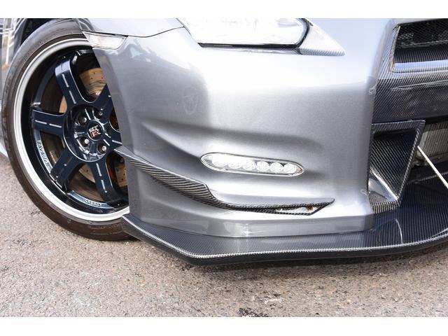 ブラックエディション中期型カーボンエアロ仕様車 鍛造ホイール(6枚目)