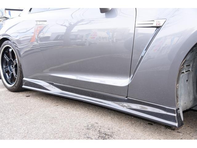 ブラックエディション中期型カーボンエアロ仕様車 鍛造ホイール(10枚目)