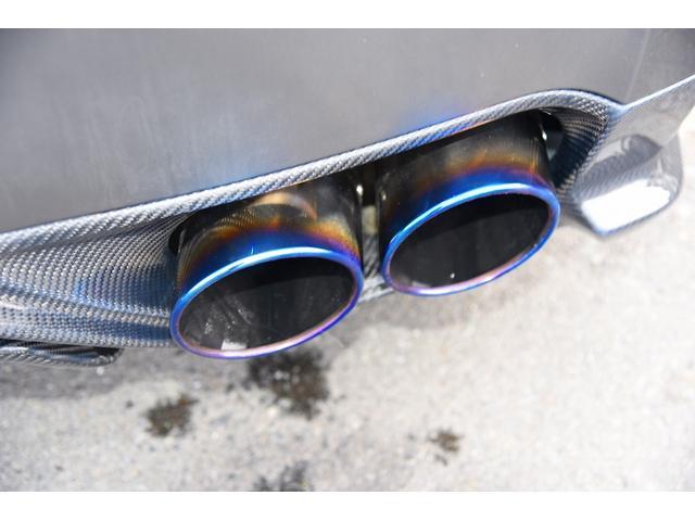 ブラックエディション中期型カーボンエアロ仕様車 鍛造ホイール(14枚目)