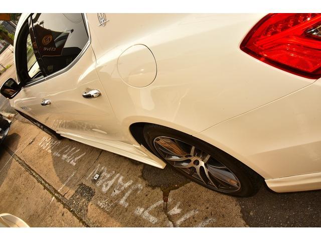 ベースグレード WALDブラックバイソンエアロパッケージ 社外ホイール ブラウンレザーシート 右ハンドル サンルーフ シートヒーター HDD地デジBカメラ ディーラー車(45枚目)