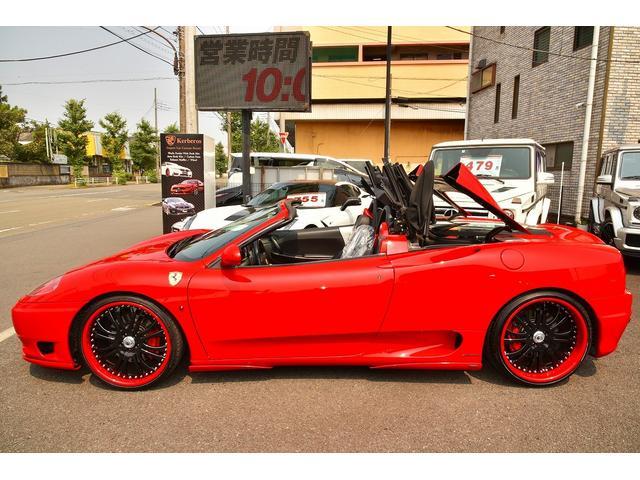 「フェラーリ」「360」「オープンカー」「神奈川県」の中古車40