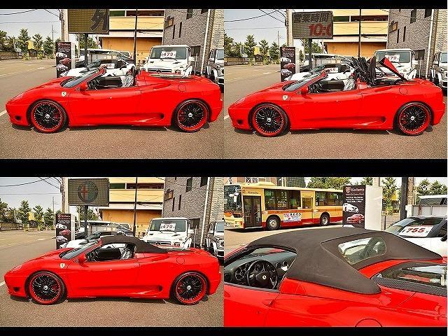 「フェラーリ」「360」「オープンカー」「神奈川県」の中古車63