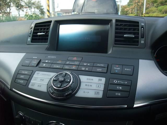 日産 フーガ 350GTスポーツパッケージ 純正ナビ 黒半革シート ETC