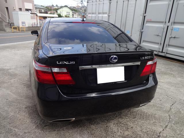 LS600hL後席セパレートシートパッケージ 買取り直販(3枚目)