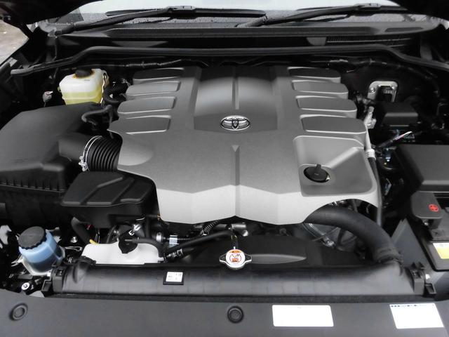 トヨタ ランドクルーザー ZX 登録済み未使用車 モデリスタエアロ
