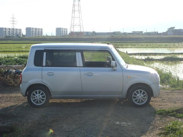 スズキ アルトラパン X 4WD 神奈川ワンオーナー 下廻り綺麗