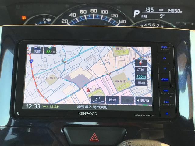 Bluetooth対応のメモリーナビ、ETC装備のタントカスタム入庫です☆ターボ車ー♪