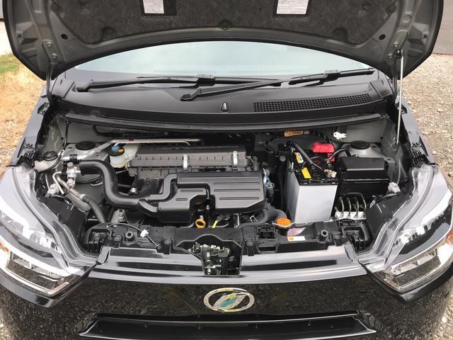 エコでレスポンスの良いエンジン。