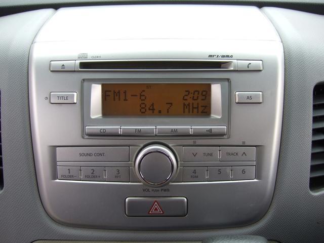 純正オーディオはCD・AM/FMラジオが聴けます♪