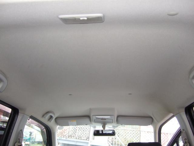 汚れやすい天井は天張を外してブラシ洗い&高圧洗浄機で丸洗いしました