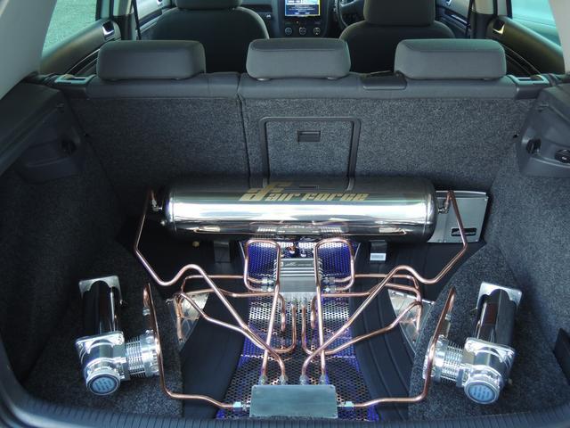 フォルクスワーゲン VW ゴルフ GT TSI フルラッピング エアサス 当店デモカー
