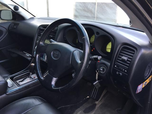 トヨタ アリスト S300ベルテックスエディション HKS車高調 LEDテール