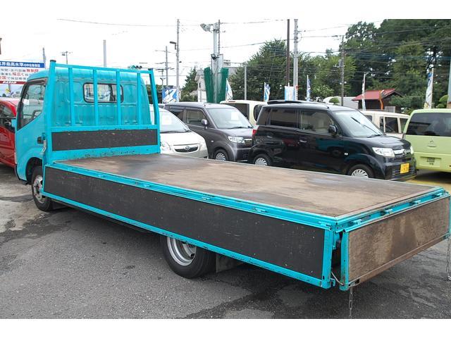 トヨタ ダイナトラック ロングフルジャストロー 幌車 積載2t 1オーナー