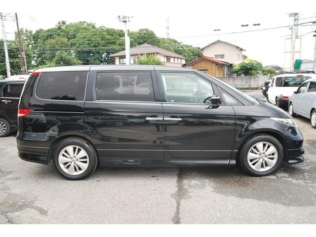 GエアロHDDナビスペシャルパッケージ 後期型 ナビ フルセグ CD DVD再生 Mサーバー ETC バックカメラ キーレス 両側電動スライド HID フォグ 純正アルミ 記録簿(12枚目)
