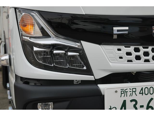 新型 3t強化ダンプ 全低床 5速MT アクティブサイドガードアシスト 衝突軽減ブレーキ 車線逸脱システム スマートキー LEDライト 記録簿(28枚目)