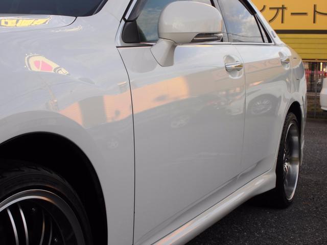 トヨタ クラウン 3.5アスリート 純正ナビ 社外19インチアルミ