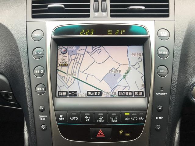 GS450h 本革シート・HDDナビ・スマートキー・ETC(4枚目)