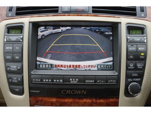 トヨタ クラウン ロイヤルサルーン DVDナビ フルセグ パワーシート HID