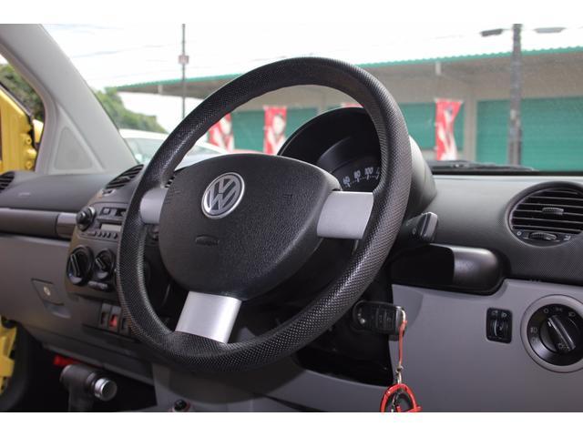フォルクスワーゲン VW ニュービートル 記録簿 取説 リアスモークガラス 6連純正CD キーレス
