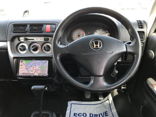 ホンダ バモス Lターボローダウン HDDナビ ETC アルミ 1年保証付