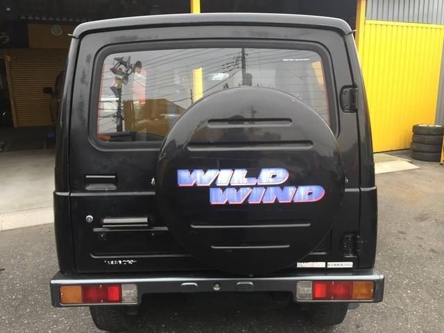 ワイルドウインドリミテッド 5MT 4WD ターボ(6枚目)