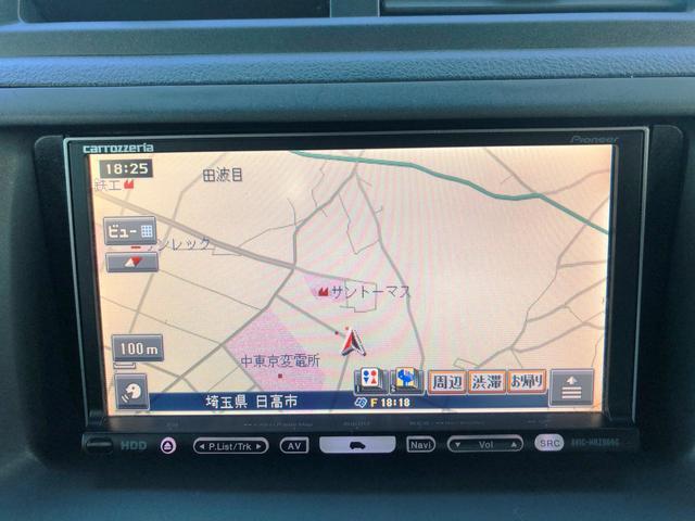 S Tチェーン 禁煙車 HDDナビ CD ETC アルミ(8枚目)