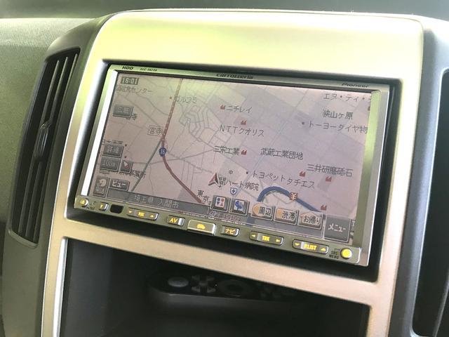 日産 セレナ 18アルミ DVD視聴可 HDDナビ 左電動パワースライド