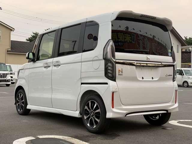 「ホンダ」「N-BOXカスタム」「コンパクトカー」「東京都」の中古車12