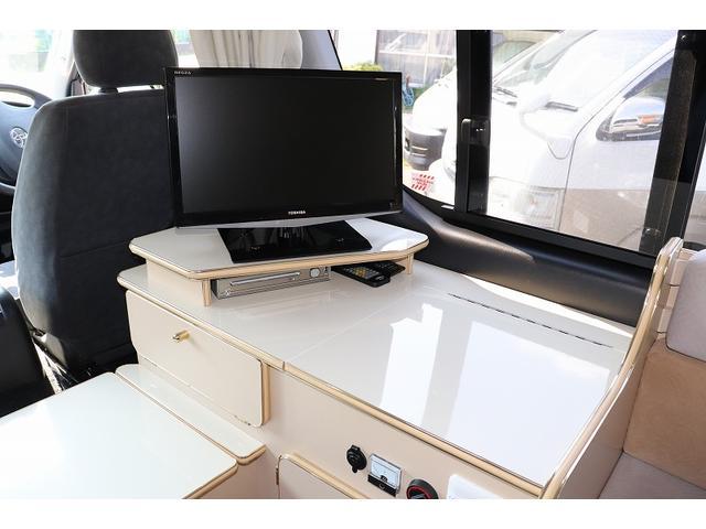 GL か―いんてりあ高橋製 リラックスワゴン タイプI シンク 冷蔵庫 べバスト製FFヒーター テレビ 地デジ マックスファン ツインサブ インバーター エアロ 網戸3枚 二段ベット ナビ Bカメラ ETC(8枚目)