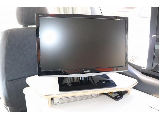 GL か―いんてりあ高橋製 リラックスワゴン タイプI シンク 冷蔵庫 べバスト製FFヒーター テレビ 地デジ マックスファン ツインサブ インバーター エアロ 網戸3枚 二段ベット ナビ Bカメラ ETC(13枚目)