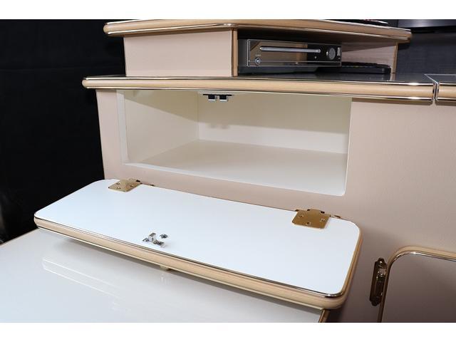 GL か―いんてりあ高橋製 リラックスワゴン タイプI シンク 冷蔵庫 べバスト製FFヒーター テレビ 地デジ マックスファン ツインサブ インバーター エアロ 網戸3枚 二段ベット ナビ Bカメラ ETC(14枚目)