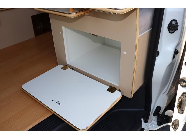 GL か―いんてりあ高橋製 リラックスワゴン タイプI シンク 冷蔵庫 べバスト製FFヒーター テレビ 地デジ マックスファン ツインサブ インバーター エアロ 網戸3枚 二段ベット ナビ Bカメラ ETC(18枚目)