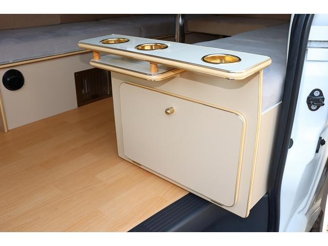 GL か―いんてりあ高橋製 リラックスワゴン タイプI シンク 冷蔵庫 べバスト製FFヒーター テレビ 地デジ マックスファン ツインサブ インバーター エアロ 網戸3枚 二段ベット ナビ Bカメラ ETC(19枚目)