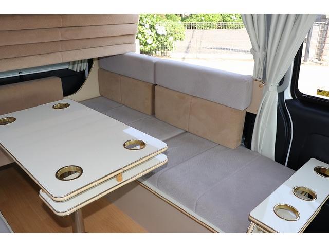 GL か―いんてりあ高橋製 リラックスワゴン タイプI シンク 冷蔵庫 べバスト製FFヒーター テレビ 地デジ マックスファン ツインサブ インバーター エアロ 網戸3枚 二段ベット ナビ Bカメラ ETC(23枚目)