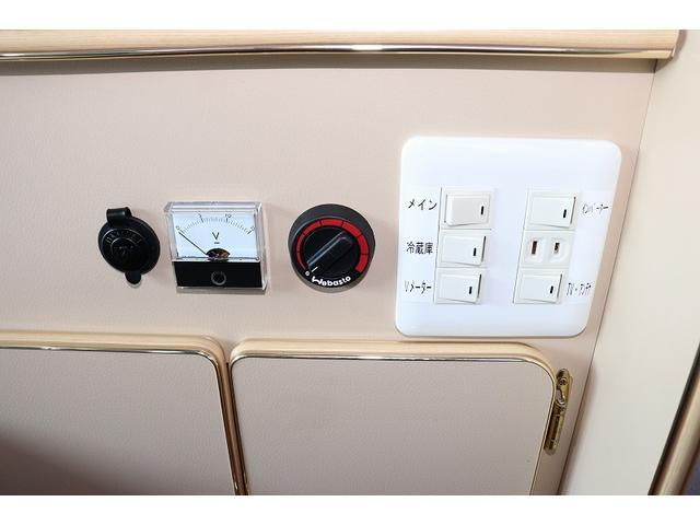 GL か―いんてりあ高橋製 リラックスワゴン タイプI シンク 冷蔵庫 べバスト製FFヒーター テレビ 地デジ マックスファン ツインサブ インバーター エアロ 網戸3枚 二段ベット ナビ Bカメラ ETC(29枚目)