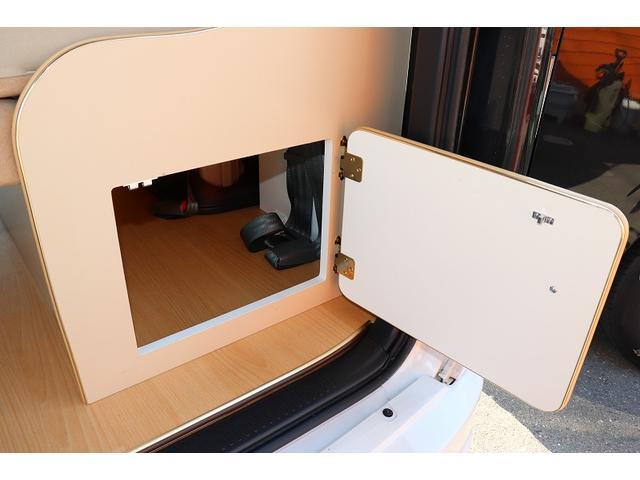 GL か―いんてりあ高橋製 リラックスワゴン タイプI シンク 冷蔵庫 べバスト製FFヒーター テレビ 地デジ マックスファン ツインサブ インバーター エアロ 網戸3枚 二段ベット ナビ Bカメラ ETC(40枚目)