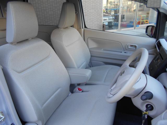 運転席からの内装写真です。禁煙車で非常に綺麗です。