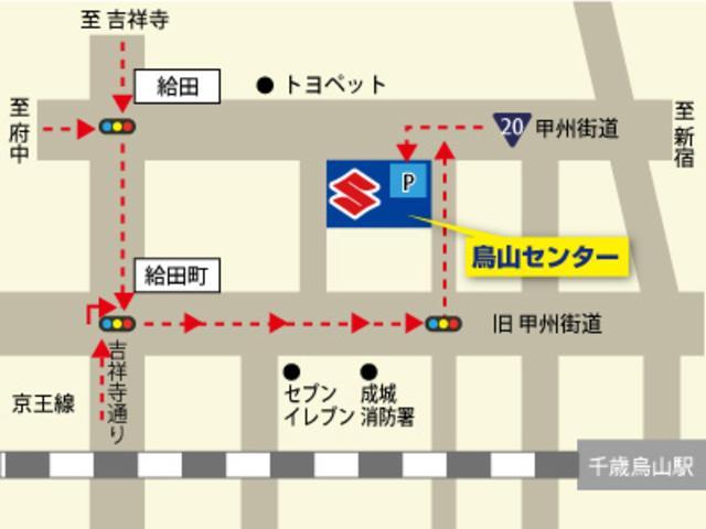当センターまでの地図です。ご来店お待ちしております。