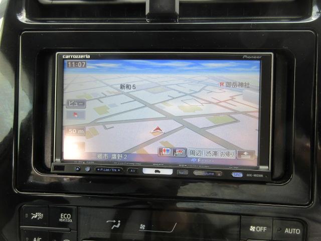 トヨタ プリウス S フルセグナビTV ETC スマートキー LEDライト